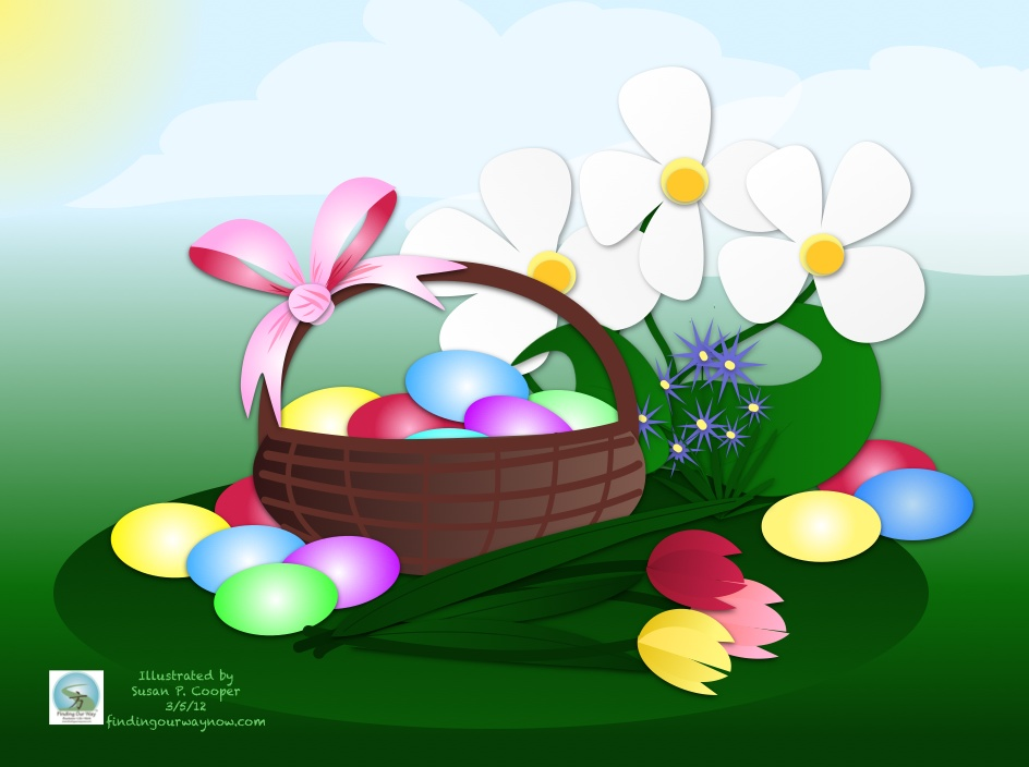 Easter Illustrations, findingourwaynow.com