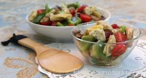 Artichoke and Bell Pepper Salad, findingourwaynow.com