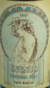 Evenus Zinfandel Port Wine, findingourwaynow.com