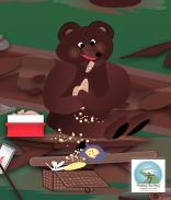 Sticky Buns A Bear, findingourwaynow.com