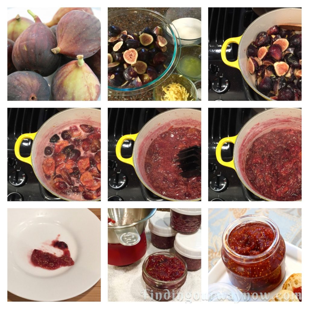 Fresh Fig Jam, findingourwaynow.com