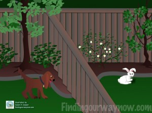 Assumption, A Dog & A Rabbit, findingourwaynow.com