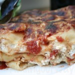 Simple Three Cheese Lasagna, findingourwaynow.com