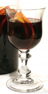 Red Wine Lemon Sangria, findingourwaynow.com