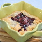 Rustic Mixed Berry Tart, findingourwaynow.com
