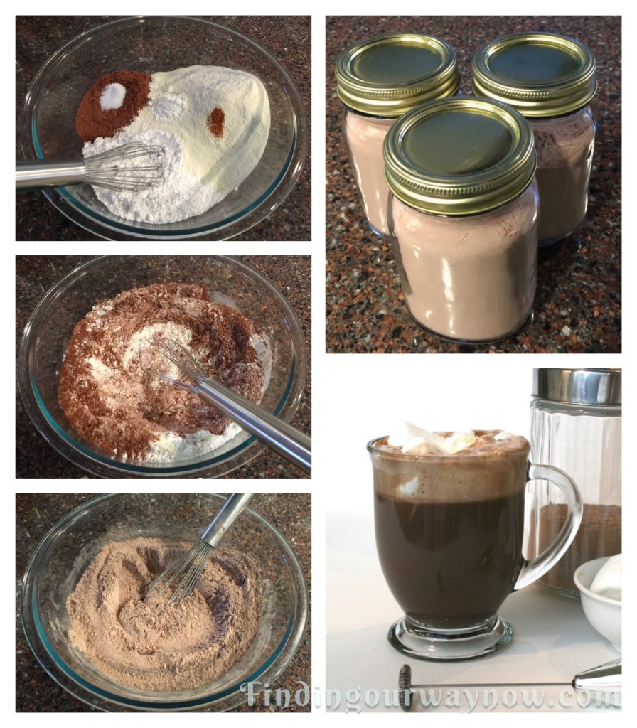 Homemade Hot Cocoa Mix, findingourwaynow.com
