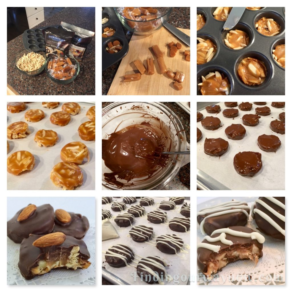 Homemade Almond Clusters, findingourwaynow.com