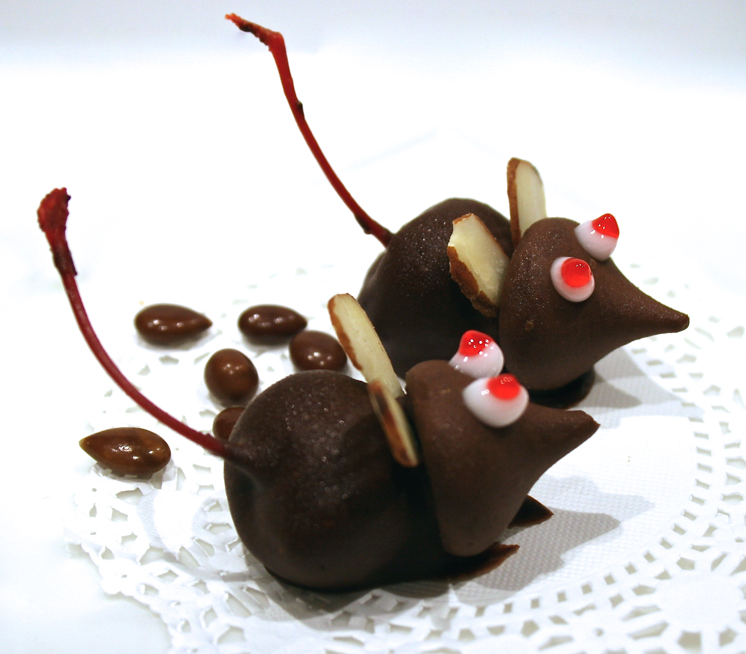 chocolate cherry mice candy: #recipe - finding our way now