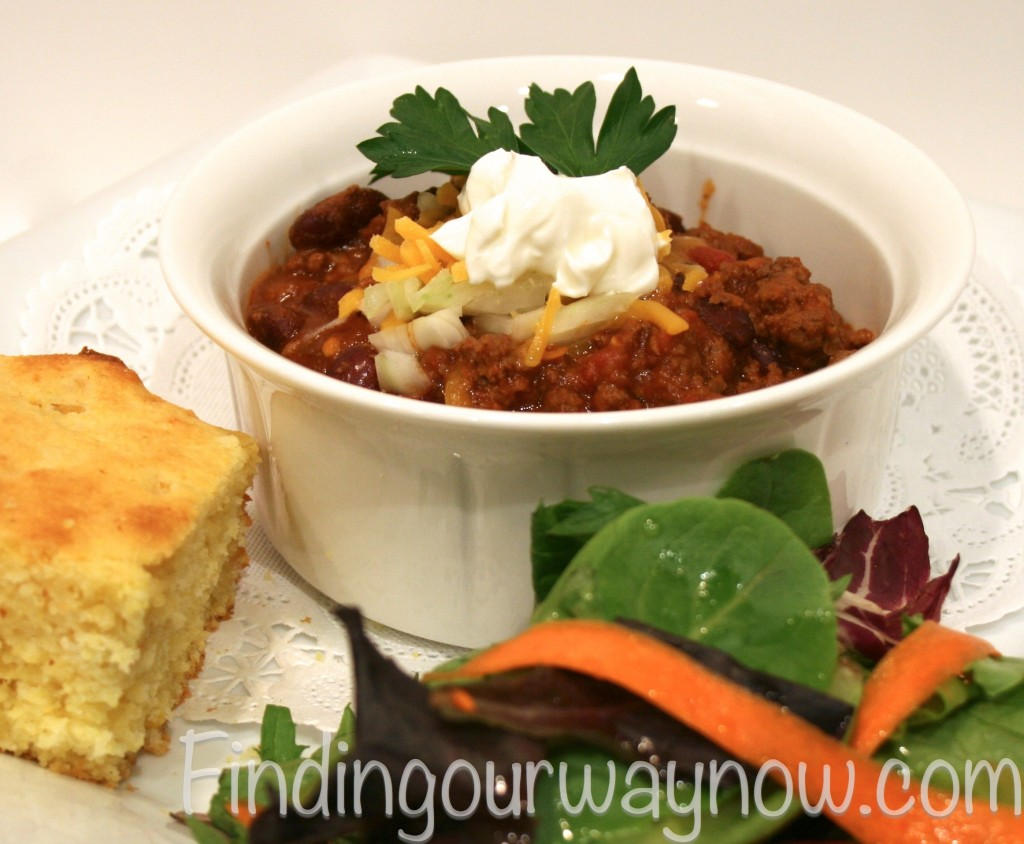 Super Easy Chili, findingourwaynow.com