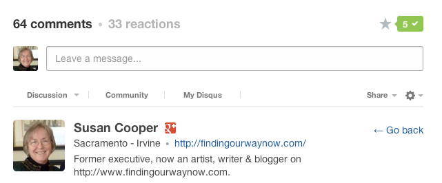 Disqus Plugin Tutorial, findingourwaynow.com