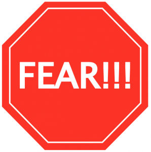 Fear - A Four-Letter Word, findingourwaynow.com