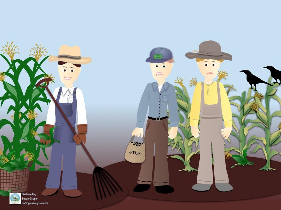 The Tale Of Three Farmers, findingourwaynow..com