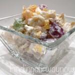 Ambrosia Fruit Salad - findingourwaynow.com