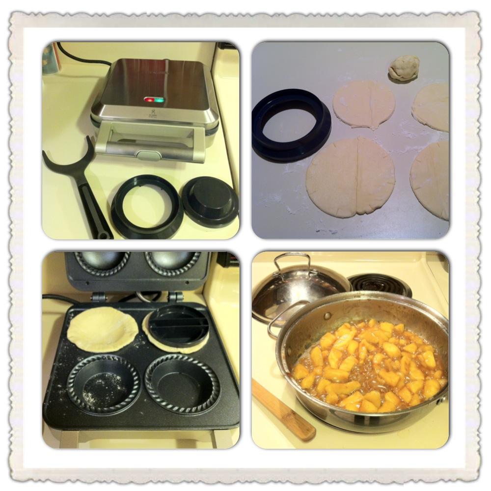 Breville mini pie maker user experience food finding for Best mini pie maker