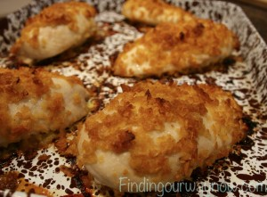 Healthy Baked Fried Chicken, findingourwaynow.com