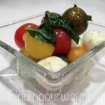 Caprese Salad, findingourwaynow.com