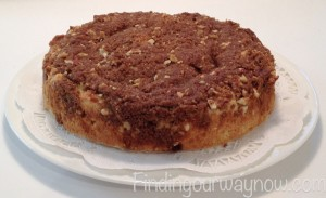 Easy Breakfast Coffee Cake, findingourwaynow.com