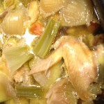 Slow Cooker Chicken Stock, findingourwaynow.com