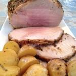 Rosemary Garlic Pork Roast, findingourwaynow.com