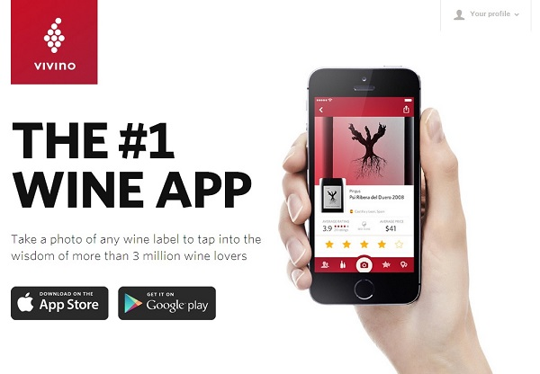 Image of Vivino Wine App