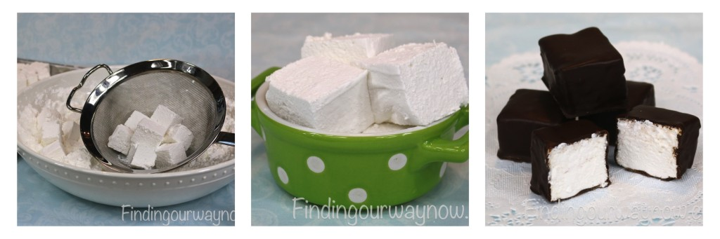Homemade Marshmallows, findingourwaynow.com