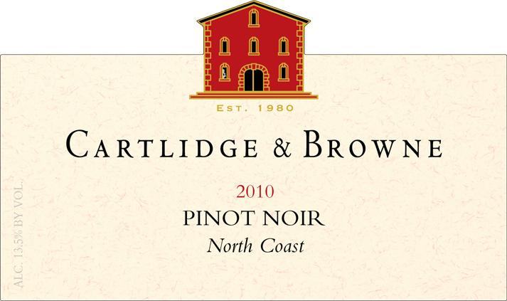 Cartlidge & Browne Pinot Noir, findingourwaynow.com