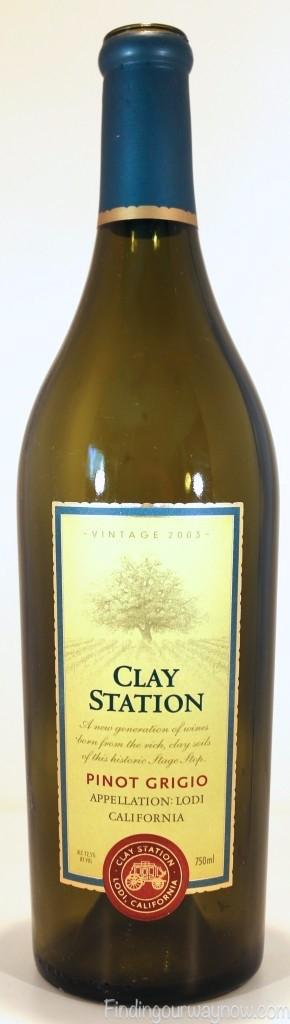 Clay Station Winery Pinot Grigio, findingourwaynow.com