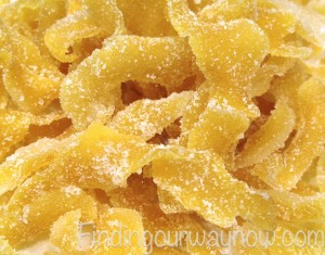Candied Lemon Peels, findingourwaynow.com