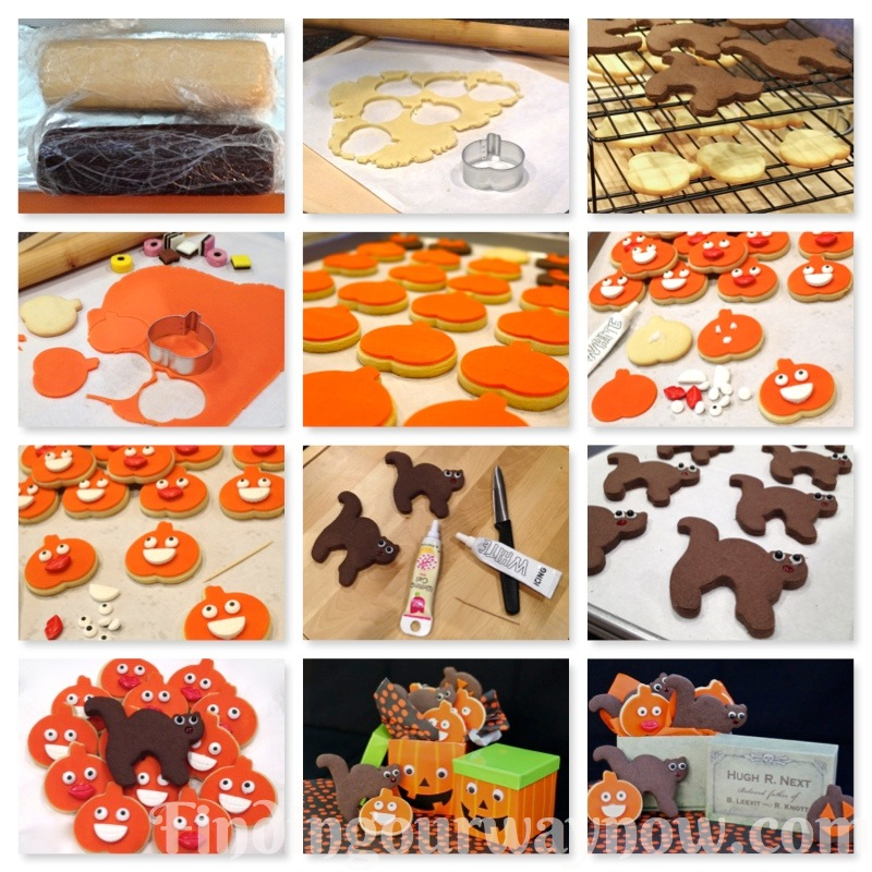 Homemade Halloween Cookies, findingourwaynow.com