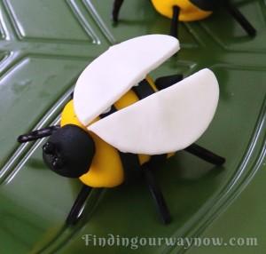 Marshmallow Bumblebees