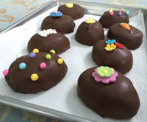Chocolate Covered Peanut Butter Eggs , findingourwaynow.com