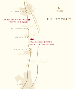 Franciscan Estate Winery, findingourwaynow.com