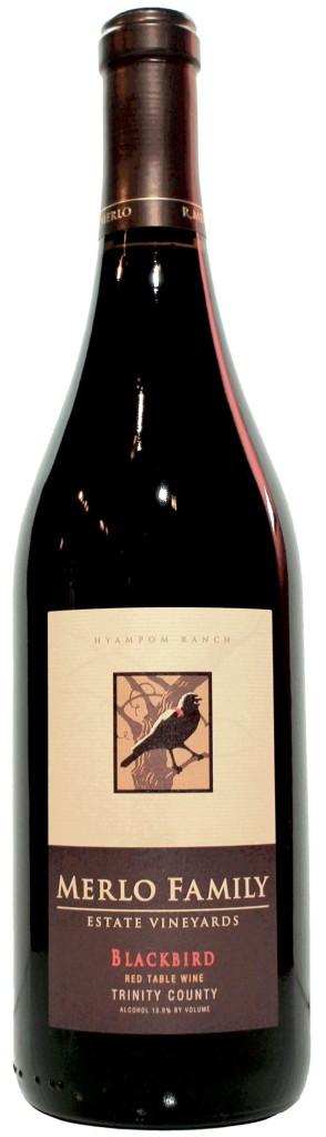 MerloWinery Blackbird Red Wine Blend, findingourwaynow.com