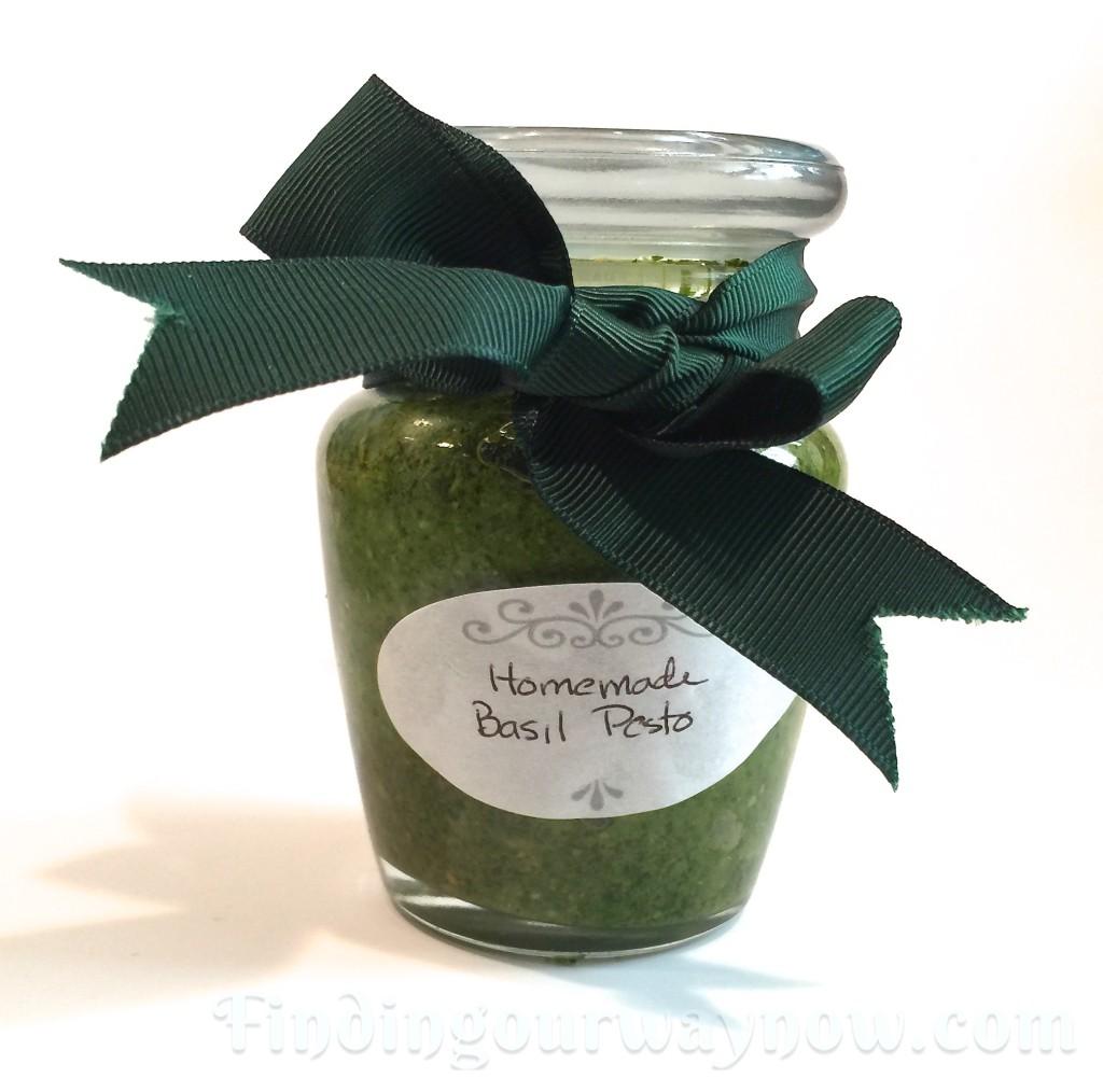 Basic Homemade Pesto, findingourwaynow.com