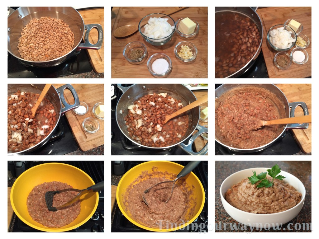 Refried Beans My Way: #Recipe - Finding Our Way Now