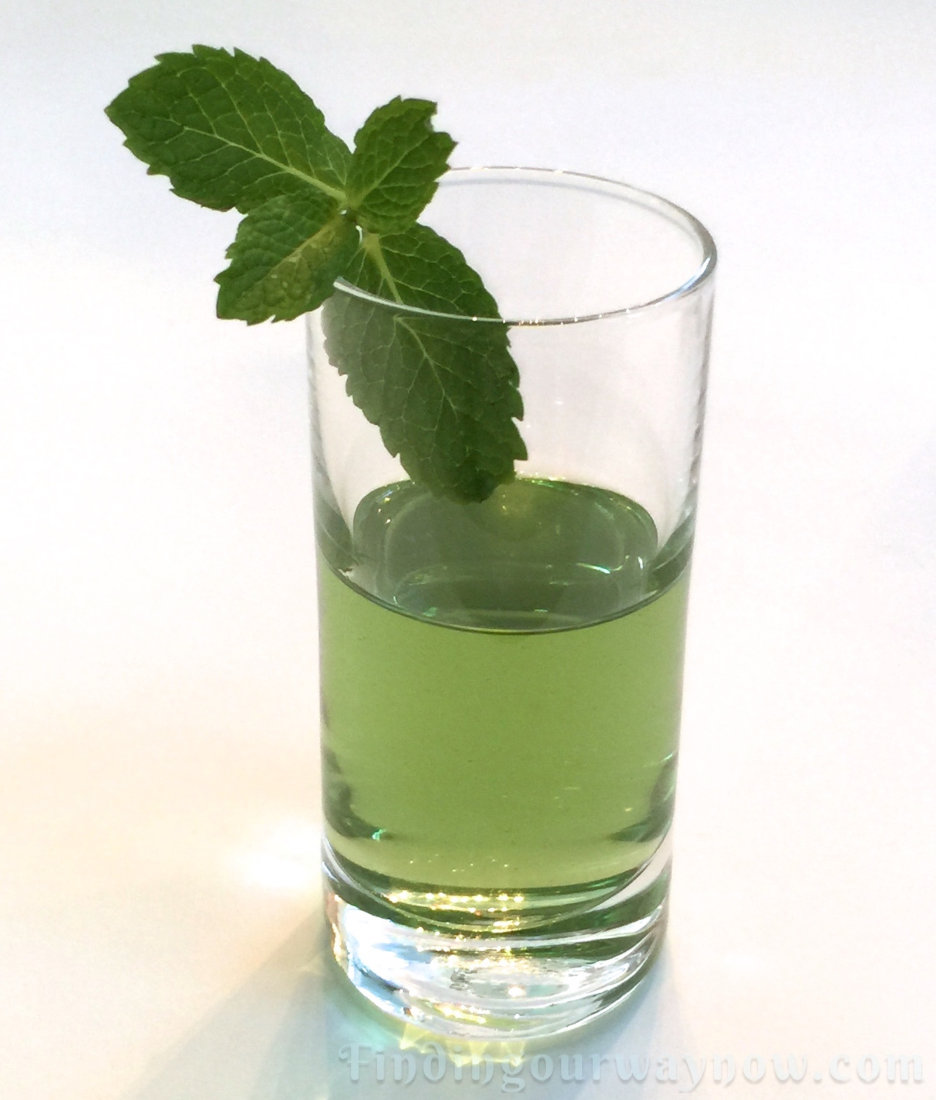 Homemade Crème de Menthe: #Recipe - Finding Our Way Now