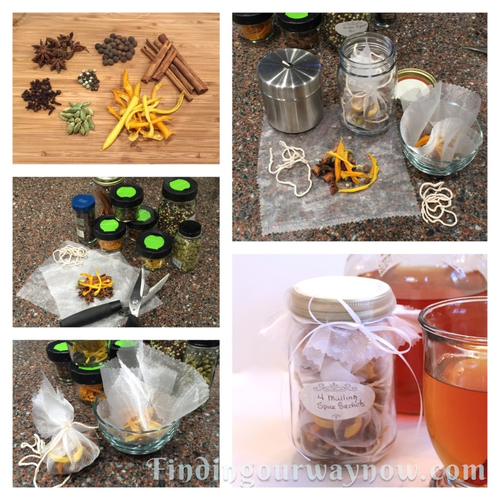 Mulling Spice Sachets, findingourwaynow.com