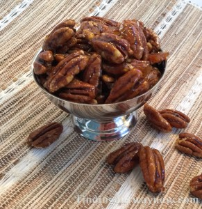 Candied Pecans, findingourwaynow.com