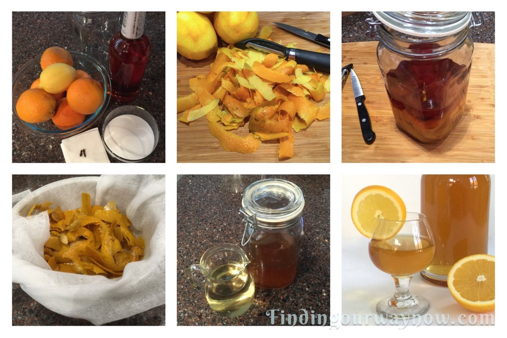 Homemade Orange Liqueur, findingourwaynow.com