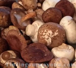 Roasted Mushroom Soup, findingourwaynow.com