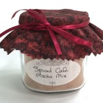 Homemade Spiced Cafe Mocha Mix Gift