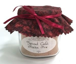 Homemade Spiced Cafe Mocha Mix, findingourwaynow.com