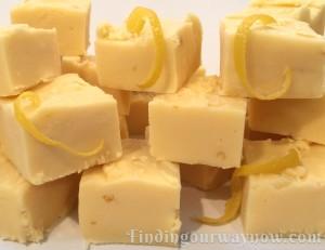 Lemon Fudge The Easy Way, findingourwaynow.com