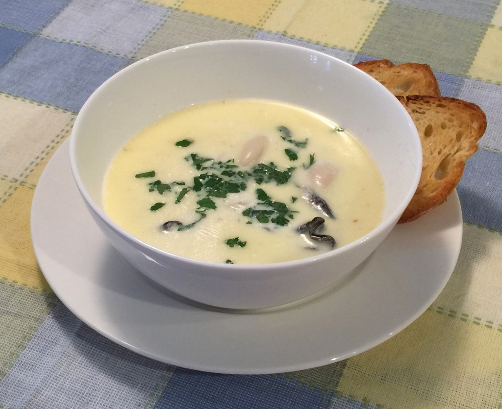 Oyster Stew The Old Fashioned Way Recipe Finding Our