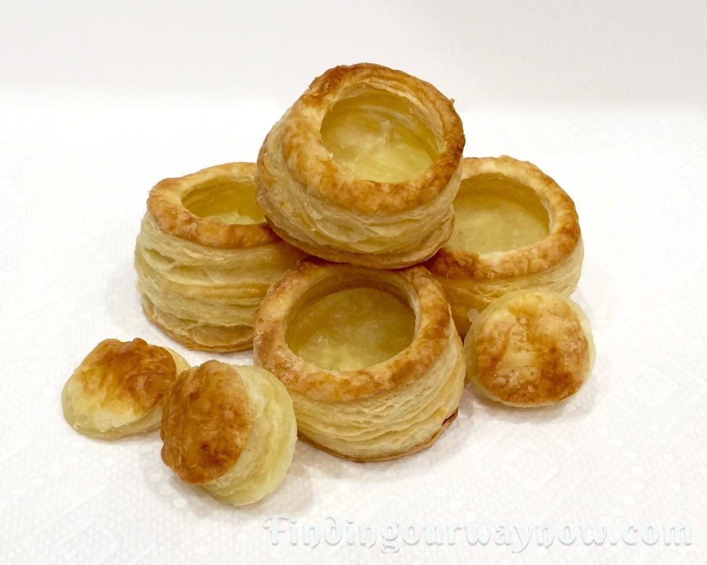 Homemade Puff Pastry Shells. findingourwaynow.com