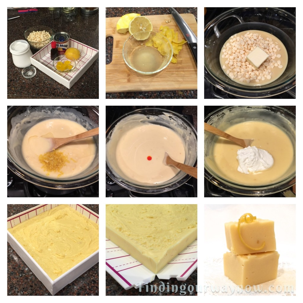 Lemon Fudge The Easy Way, findingourwaynow.com
