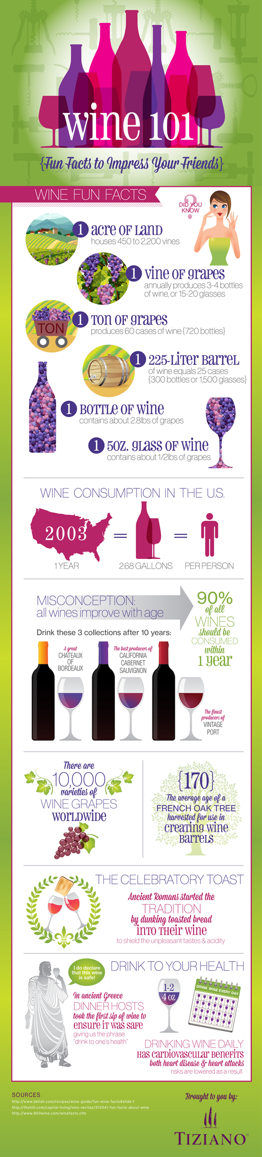 Fun Facts About Wine, findingourwaynow.com