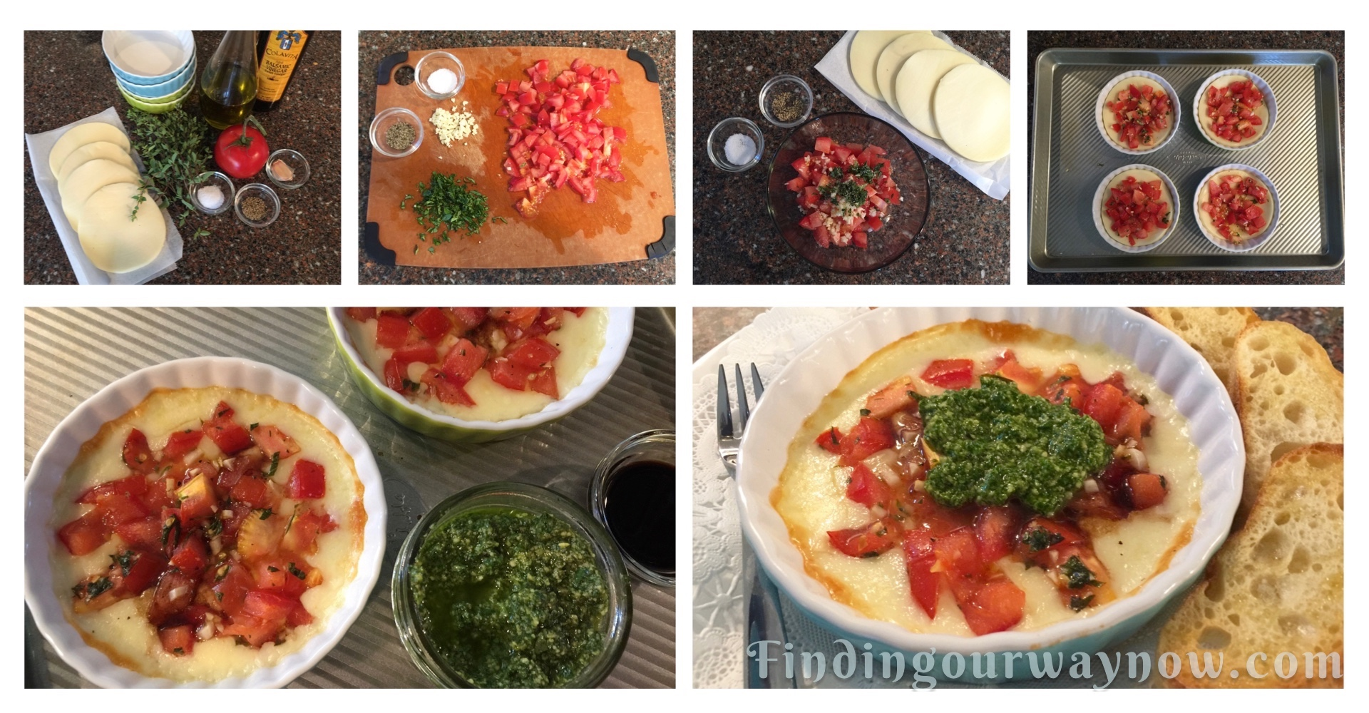 Baked Provolone with Tomatoes, Herbs: #Recipe
