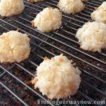 Coconut Macaroons, findingourwaynow.com