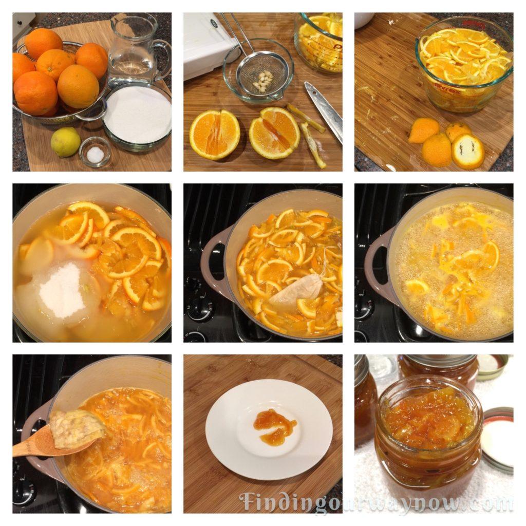 Orange Marmalade, findingourwaynow.com